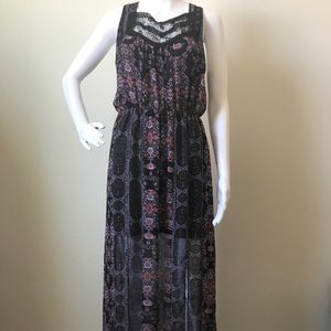 Free People Moroccan Gypsy Maxi Dress Size 2