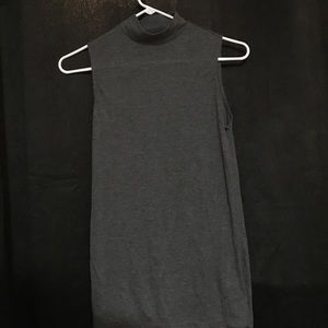 Cute mossimo dressy tank with high neck size XS