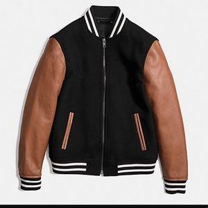 HP! ⭐️ Coach varsity jacket