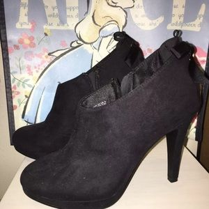 H&M Ankle Boots With Bow Lace