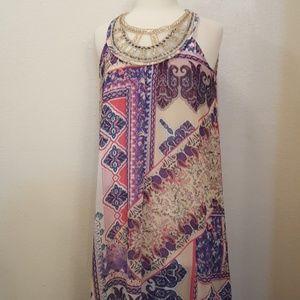 Ny collection Size Medium Msrp $70 beaded neckline