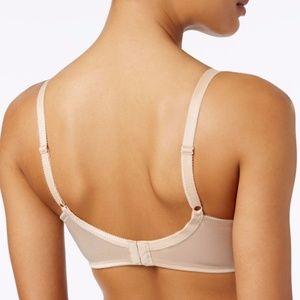 ab2c060458 Wacoal Intimates   Sleepwear - NWT Wacoal 85121 Feather Sheer Embroidery Bra  Nude