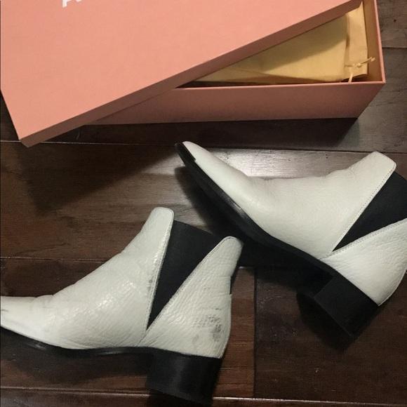 f8b36154c2c98 Acne Shoes - Acne studios white jensen boots in white size 36