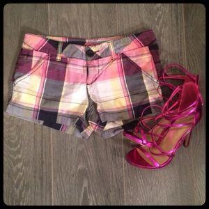 Very Cute and Sassy Plaid Shorts