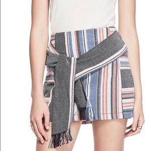 GUESS striped skirt