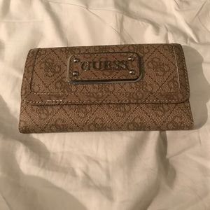 Gold Guess Wallet