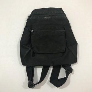 Kate Spade mini Nylon Black Backpack