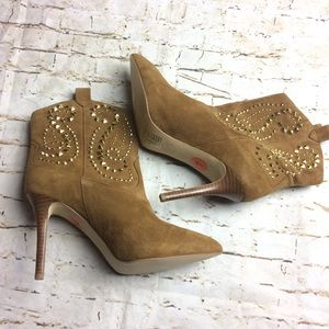 Michael Kors Studded Reena Boots Pointy Toe Size 7