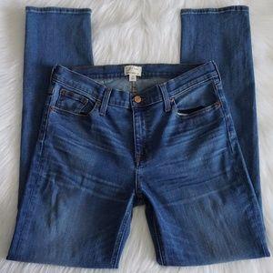 J Crew Matchstick Jean in Preston Wash Size 29