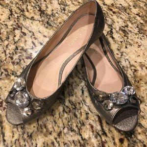 Kate spade open toe flat/size 6.5