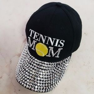Accessories - ***NEW***Tennis Mom Rhinestone Cap