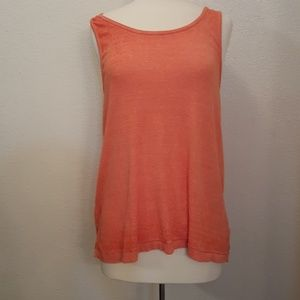 FREE PEOPLE SIZE SMALL CORAL TANK TOP