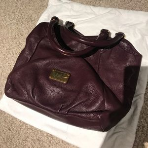 EUC Marc by Marc Jacobs Franchesca in Eggplant