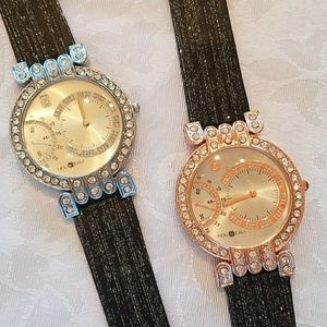 Jewelry - New SET OF 2 Crystal Embellished Watches