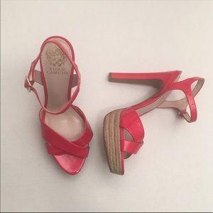 Vince Camuto espadrille heels