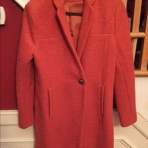 Kenneth Cole size 14 orange women's dress jacket.