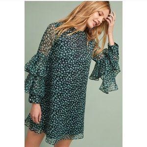 ISO!! Anthropologie Fluttered Tunic Dress