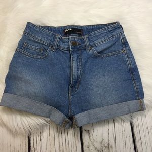 Urban Outfitters High Waisted Shorts by BDG