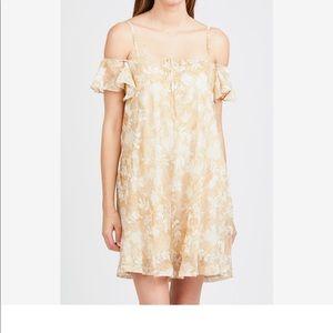 Esley Floral Cold Shoulder Dress