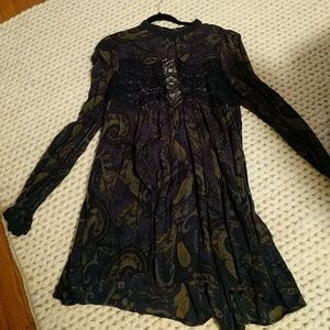 Free People tunic / dress sz large