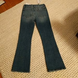 "Frame Denim Jeans - Frame ""Le Crop Mini Boot"" sz 27 jeans"