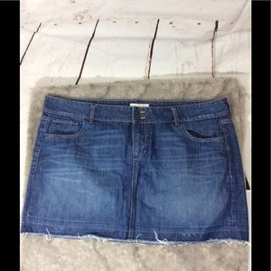 Mini skirt old navy size 18 (J-001)