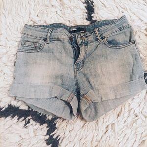 BDG Blue Denim Shorts