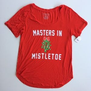 Christmas Masters in Mistletoe Funny Ugly Shirt