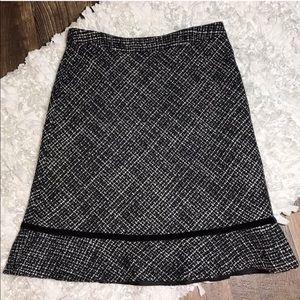 Gap Tweed Skirt