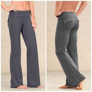 Athleta Fusion Yoga Activewear Pants [Gray Marled]