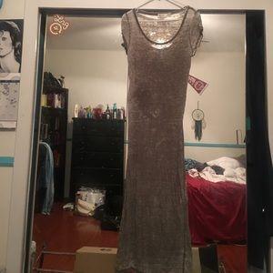Dresses & Skirts - Distressed maxi dress
