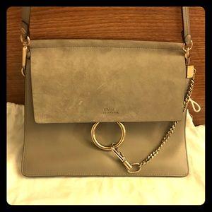 Chloe Faye shoulder bag. Motty Grey