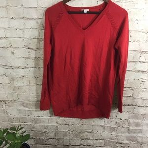 GAP red oversized pullover