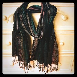 Nordstrom multi-color scarf