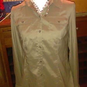 Banana Republic heritage stretch size 6 blouse