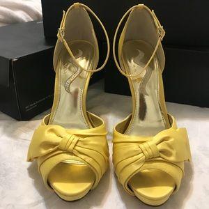Nina Electra - yellow heels