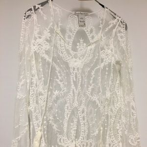 American Rag Lace shirt with Brand New Never Worn
