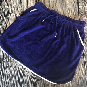 Urban Outfitters Terrycloth Mini Skirt Small