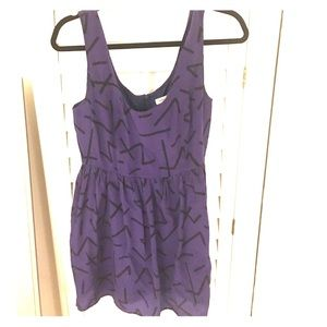 Urban outfitters silk dress like new