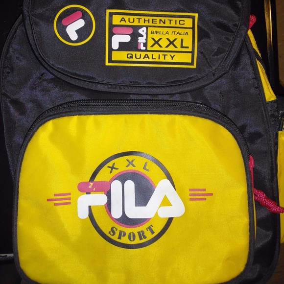 Fila Handbags - VINTAGE FILA BACKPACK