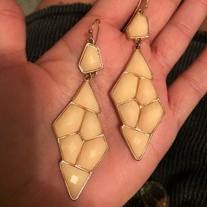 Gem drop earrings. Brand new!