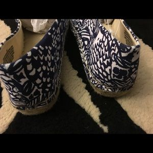 Lilly Pulitzer for Target espadrilles size 8.5 new
