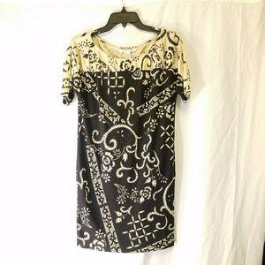 DIANE VON FURSTENBERG silk dress, size 2