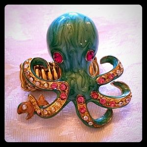 Jewelry - New OCTOPUS Bling Stretch Ring
