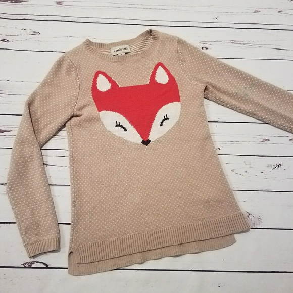 28297985a34 Lands  End Other - Land s End Girls Fox Sweater ...
