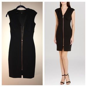 Ted Baker Asella Black ZIP Dress