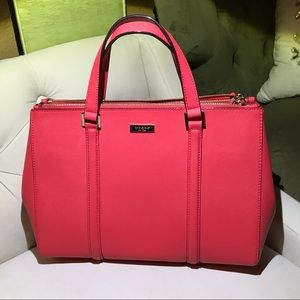 Kate Spade Pink leather hand bag