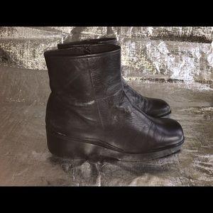 🍃Aerosoles Wedge Leather Boot🍃