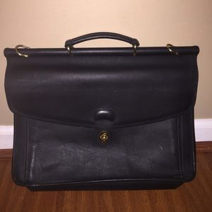 COACH Vintage briefcase/computer bag!