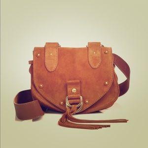 See by Chloe Suede Saddle Crossbody Bag